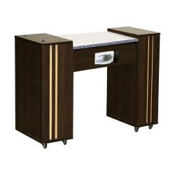 Adelle AUV Manicure Table Chocolate - 1b