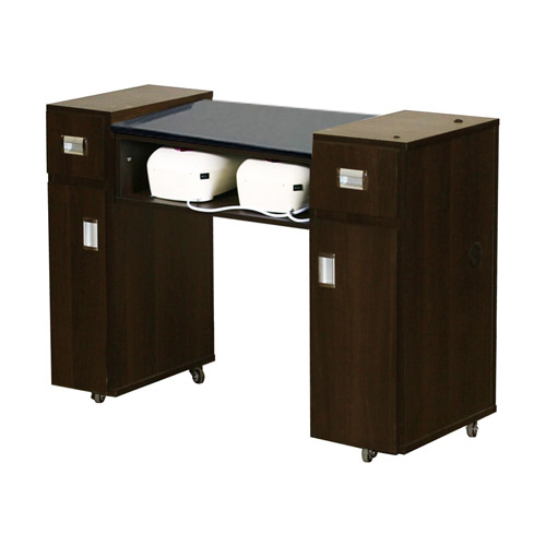 Adelle AUV Manicure Table Chocolate