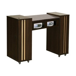 Adelle AUV Manicure Table Chocolate - 5b