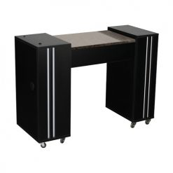 Adelle AUV Manicure Table Black
