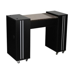 Adelle Manicure Table Black A - 1