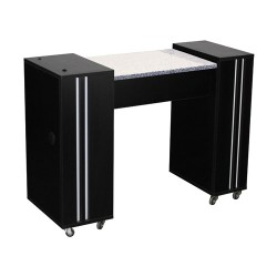 Adelle Manicure Table Black A - 2