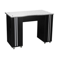 Adelle Manicure Table Black B - 1b