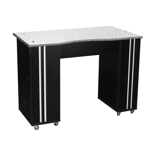 Adelle Manicure Table Black B - 1b