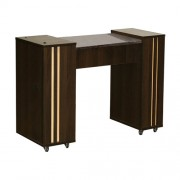 Adelle Manicure Table Chocolate A - 1b