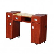 Adelle Manicure Table Classic Cherry A-5
