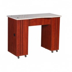Adelle Manicure Table Classic Cherry B1