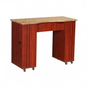 Adelle Manicure Table Classic Cherry B2