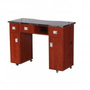 Adelle Manicure Table Classic Cherry B3
