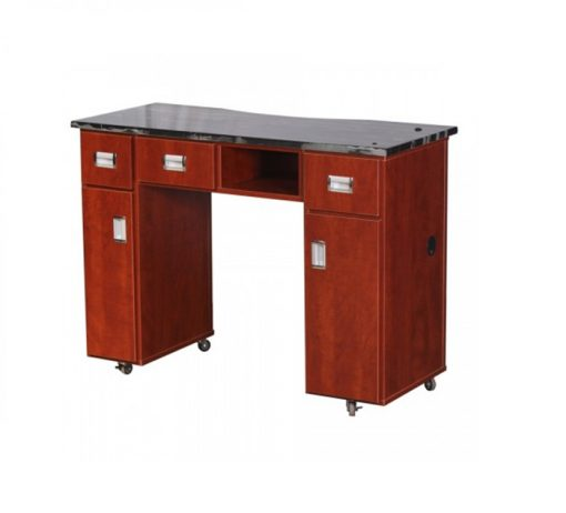Adelle Manicure Table Classic Cherry B