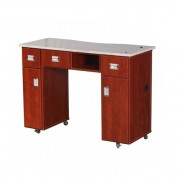 Adelle Manicure Table Classic Cherry B4