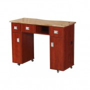 Adelle Manicure Table Classic Cherry B5