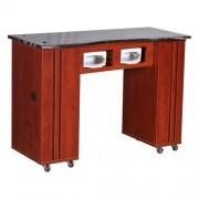 Adelle Manicure Table Classic Cherry BUV - 1bc