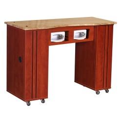 Adelle Manicure Table Classic Cherry BUV - 1e