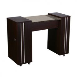 Adelle Manicure Table Dark Cherry A
