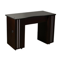 Adelle Manicure Table Dark Cherry B - 4b