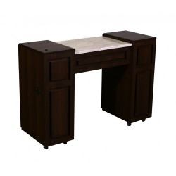 Canterbury Manicure Table Chocolate A 000