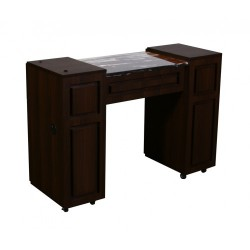 Canterbury Manicure Table Chocolate A 111