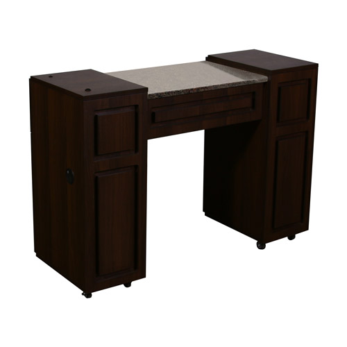 Canterbury Manicure Table Chocolate A