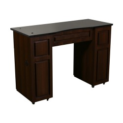 Canterbury Manicure Table Chocolate B - 2a