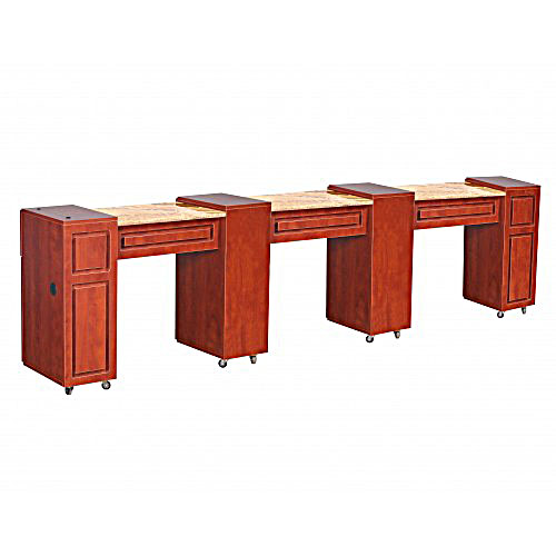 Canterbury Manicure Table Classic Cherry D