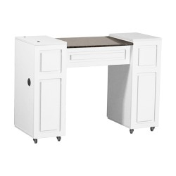 Canterbury Manicure Table White A - 1a