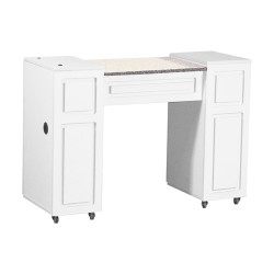 Canterbury Manicure Table White A - 4a