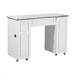 Canterbury Manicure Table White B