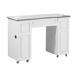 Canterbury Manicure Table White B - 1a