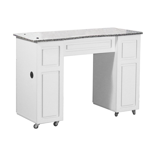 Canterbury Manicure Table White B