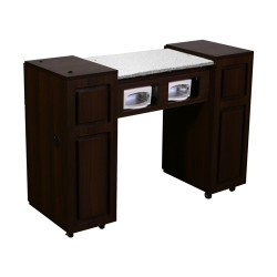 Canterbury UV Manicure Table Chocolate A - 1a