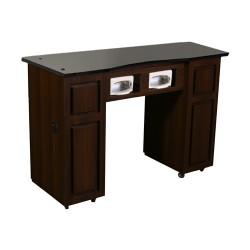 Canterbury UV Manicure Table Chocolate B - 1a