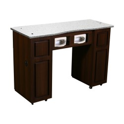 Canterbury UV Manicure Table Chocolate B - 2a