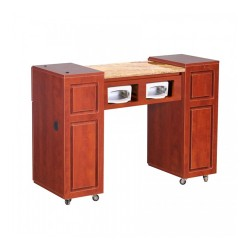 Canterbury UV Manicure Table Classic Cherry A 000