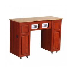 Canterbury UV Manicure Table Classic Cherry B 000