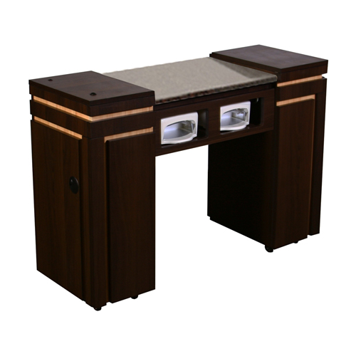 Carina UV Manicure Table Chocolate A