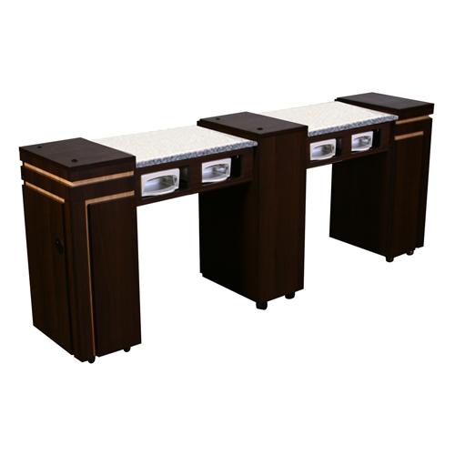 Carina UV Manicure Table Chocolate C