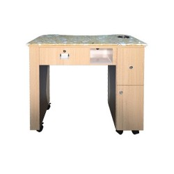 Custom Made Nail Table T 101 (Ash Rosewood) - 2