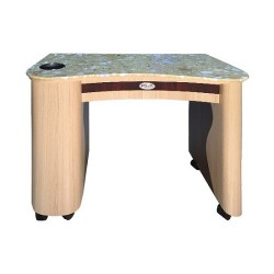 Custom Made Nail Table T 101 (Ash Rosewood)