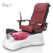 Daisy 3 Pedicure Spa Chair - 9