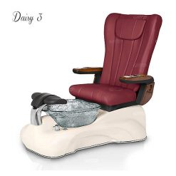 Daisy 3 Pedicure Spa Chair New Red