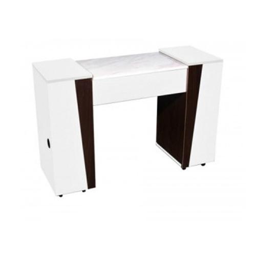 Deville Manicure Table Cream Wood