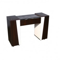 Deville Manicure Table Dark Cherry 1