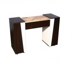 Deville Manicure Table Dark Cherry
