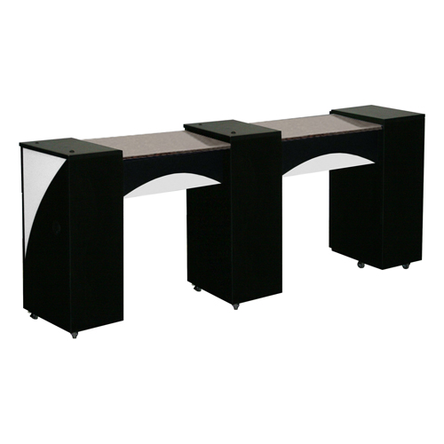 Edita Manicure Table Black C