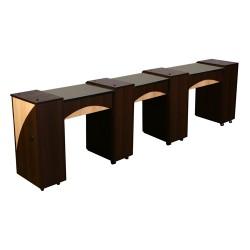 Edita Manicure Table Chocolate D - 1