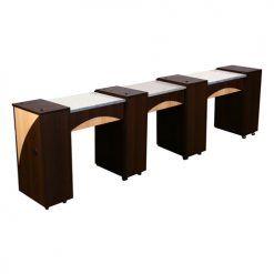 Edita Manicure Table Chocolate D