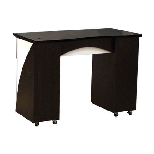 Edita Manicure Table Dark Cherry B