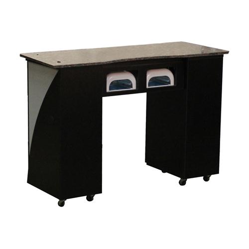 Edita UV Manicure Table Black B