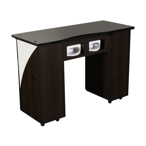 Edita UV Manicure Table Dark Cherry B